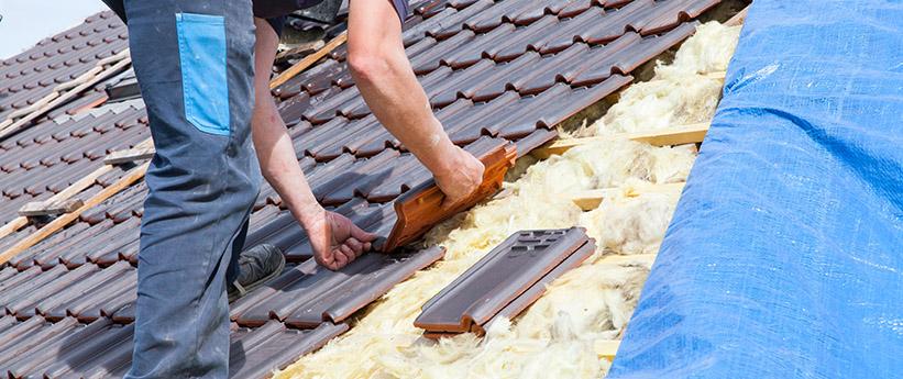 DachpappeUndDachziegeln