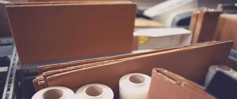 Verpackungsmaterial entsorgen